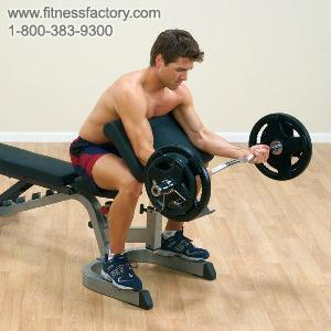 Preacher Curl Attachment