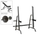 Body-Solid Press Rack, Bench, 300 lb. Weight Set