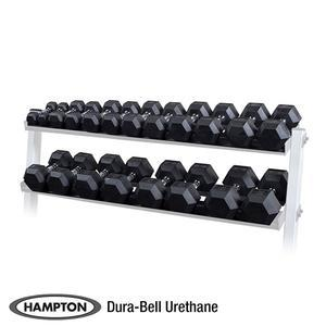 Hampton 5-50 lb. Urethane DuraBell Dumbbell Set (HADBU-5-50)