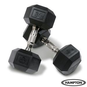 Hampton 5-50 lb. Urethane Dura-Bell Dumbbell Set