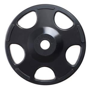 Hampton 45 lb. Olympic Rubber Grip Plate (HAHOG-R-45)