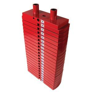 Premium Red Weight Stack 200lbs.