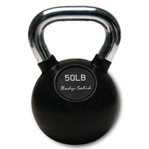Premium Kettlebells with Chrome Handles 5-80 Pounds
