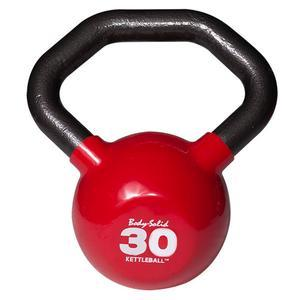 Body-Solid Ergonomic Vinyl Kettle Balls 5-60 Pounds (KBL)
