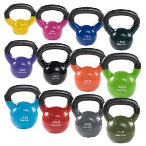 Body-Solid Vinyl Dipped Kettlebells