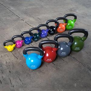 Body-Solid Vinyl Dipped Kettlebell Sets