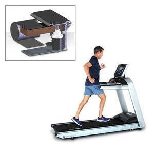 Landice L8 Treadmill with Ortho Belt - Cardio Panel