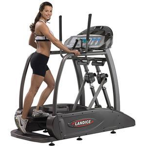 Landice E7 ElliptiMill - Cardio Panel