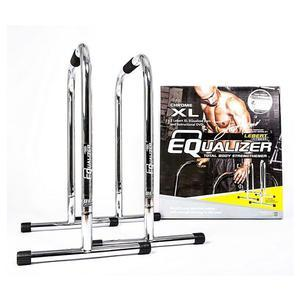 Lebert Fitness XL Equalizer Bars, Chrome (LF-EQ-CH)
