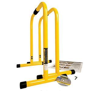 Lebert Fitness Equalizer Bars (LF-EQ-YELLOW)