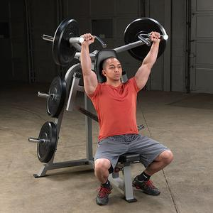 Pro ClubLine Leverage Shoulder Press by Body-Solid (LVSP)