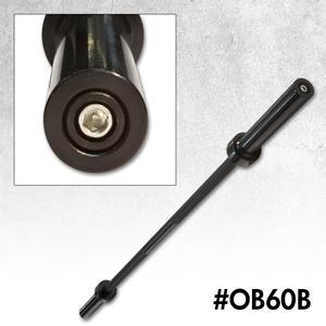 5' Olympic Bar - Black
