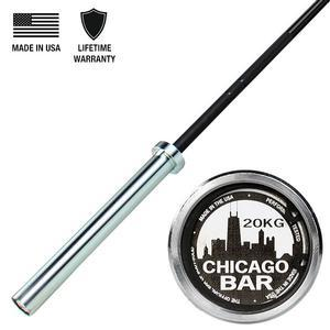 Body-Solid Chicago Olympic Bar, Unconditional Warranty (OB86CHICAGO)