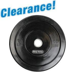 Close Out Sale! Black Bumper Plates while supplies last!