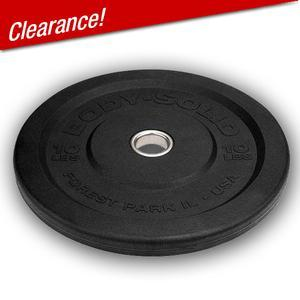 Close Out Body-Solid Premium Bumper Plates 10lb. Supply Limited (OBPP)