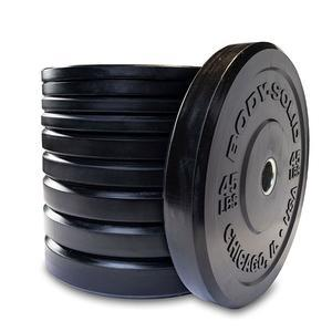 Chicago Extreme Bumper Plate Set 260 Pounds