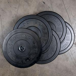 260 lb. Chicago Extreme Bumper Plate Set