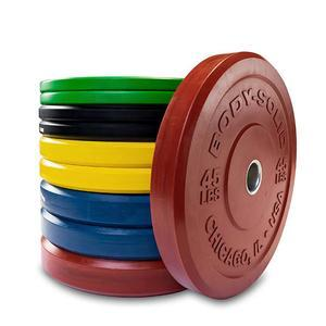 260lb. Chicago Extreme Color Bumper Plate Set   (OBPXC260)