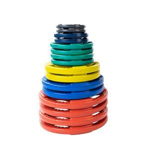 355lb. Color Grip Olympic Plate Set