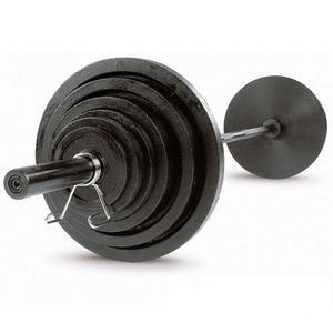 Olympic Iron Weight Plate Sets with Bar (OSB-SETS)