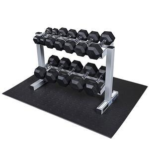 Powerline 5-30 Pound Dumbbell Set with Rack