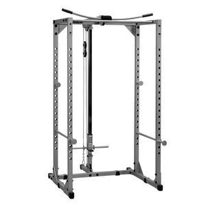 Powerline Power Rack with Lat Package