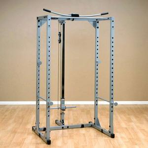 Powerline Power Rack with Lat Combo