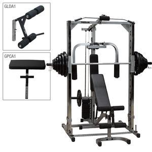 Powerline PSM144XS Smith Machine Gym Package (PSM144XS)