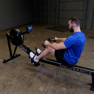 Endurance R300 Indoor Rower with Trackrower Handle