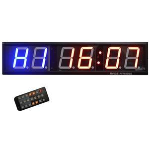 Rage Fitness Cross Timer Clock - 6 Digit