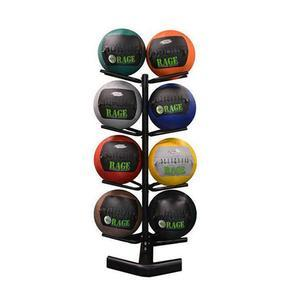 Rage Fitness 4-Tier Medicine Ball Rack