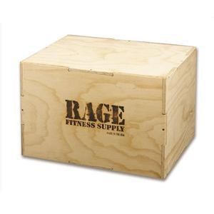 Rage Fitness Wood Plyo Box