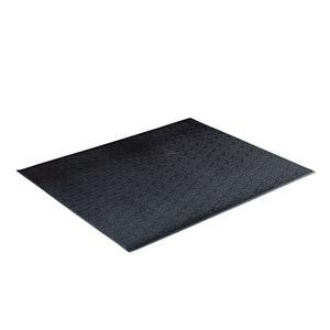 Vinyl Cardio Floor Mat, 4' Long
