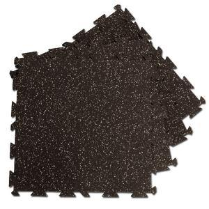 Body-Solid Rubber Puzzle Mats, Speckled Finish