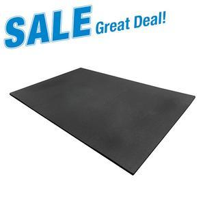 Heavy Duty 4' x 6' Rubber Floor Mat 3/4 inch Thick
