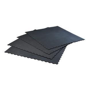 SuperSport™ 8'x8' 4-Piece Rubber Flooring Mat (RFHU79)