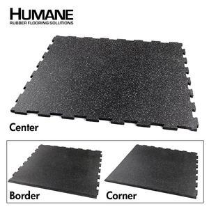 Interlocking Puzzle Rubber Floor Mats