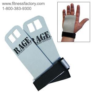 Rage Fitness Leather Hand Grip Pair