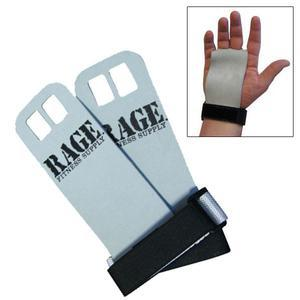 Rage Fitness Leather Hand Grips