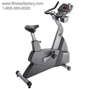 Life Fitness LC9500 Upright Bike Remanufactured