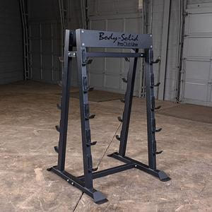 Pro ClubLine Fixed Weight Barbell Rack by Body-Solid (SBBR100)