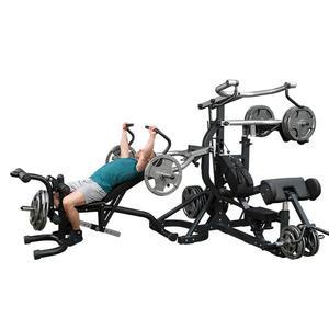 Body-Solid SBL460P4 Freeweight Leverage Gym with Bench (SBL460P4)
