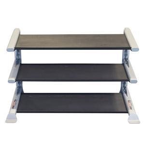 Pro ClubLine Modular Storage Rack with 3 Dumbbell Tiers