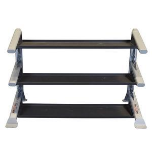 Body-Solid ProClub Modular Storage Rack with 3 Kettlebell Tiers (SDKR1000KB)