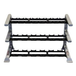 Body-Solid ProClub Modular Storage Rack with 3 Saddle Tiers