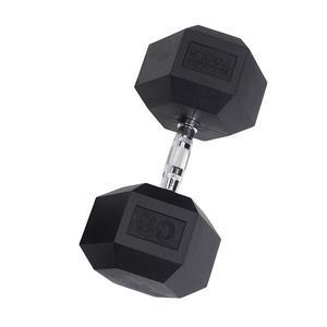 Rubber Coat Hex Dumbbells 3-120 Pounds