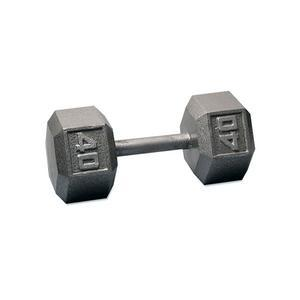 Cast Iron Hex Dumbbells 1-100 Pounds (SDX)