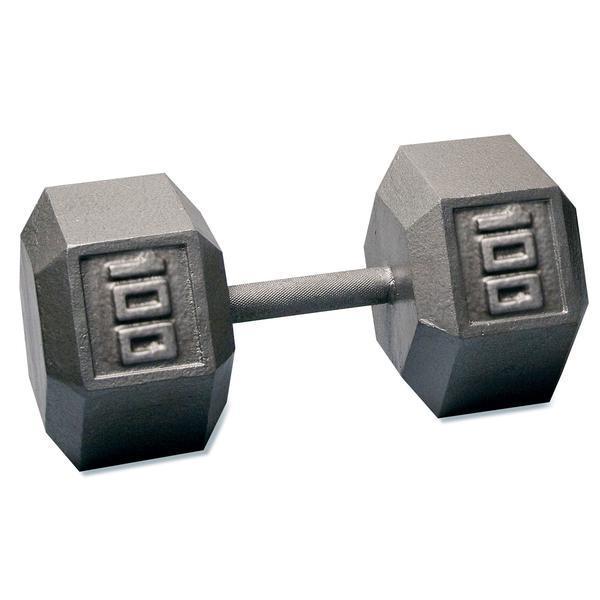 Hex Iron Dumbbells 1 100 Lbs