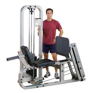 Pro ClubLine Leg Press 310lb. stack (SLP500G/3)