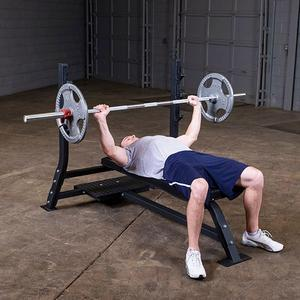 Pro Clubline SOFB250 Flat Bench by Body-Solid